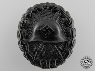 A Black Grade Wound Badge; Condor Legion Type