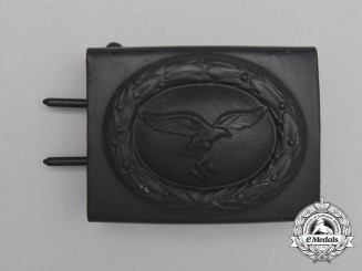 A Mint 1940 Pattern Luftwaffe EM/NCO's Service Belt Buckle