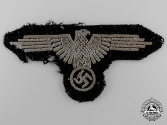 A Waffen-SS Sleeve Eagle; Tunic Removed