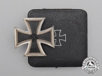 An Iron Cross 1939 First Class by Glaser & Söhne of Dresden in its Case of Issue