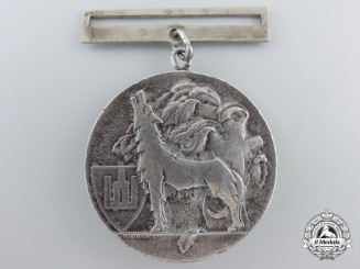 A Lithuanian Grand Duke Gediminas Order; 2nd Class Medal