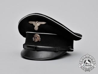 A 1936 Allgemeine SS NCO Dienstmütze; SS-RZM Tagged