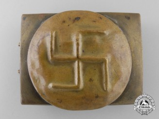 An Unattributed & Likely Early Freikorps Sympathizer's Buckle