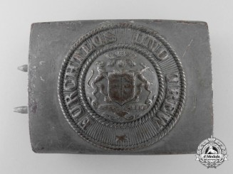 A First War Württemberg Enlisted Belt Buckle