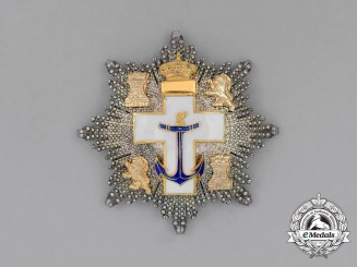 Spain, Kingdom. An Order of Naval Merit, 2nd Class Star, c.1975