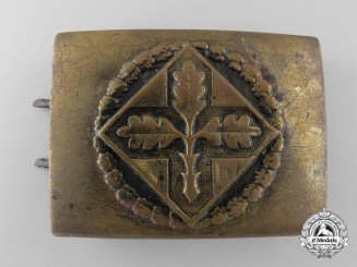 A Physical Education Association & Evangelistical Buckle; Published Example