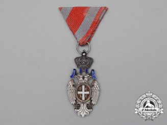A Serbian Order of the White Eagle, 5th Class Knight