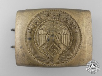An HJ Belt Buckle by Richard Sieper & Söhne; Published Example
