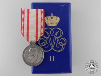 Monaco. A Medal of Labour; Silver Grade