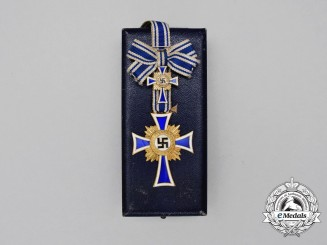 Germany. A Gold Grade Cross of Honour of the German Mother by Deumer