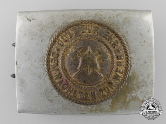 An Early German Imperial, Weimar Republic Fire Defence Belt Buckle