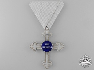 An Austrian Military Chaplains Merit Cross; Second Class Cross