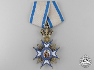 A Serbian Order of St.Sava; Fourth Class by G.A. Scheid