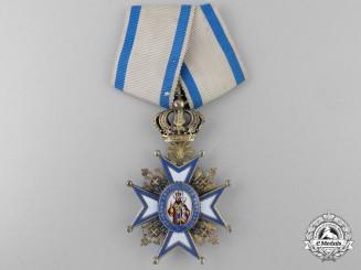 Serbia, Kingdom. An Order of St.Sava, IV Class, by G.A. Scheid