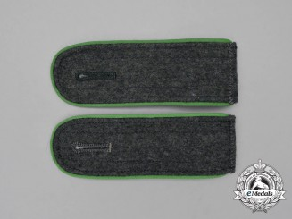 A Pair of Wehrmacht Gebirgsjäger/Mountain Troops EM's Shoulder Boards