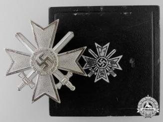 A War Merit Cross First Class with Swords in Case
