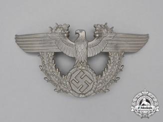 A Third Reich Period German Police/Gendarmerie Shako Plate