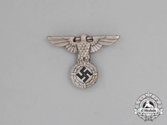 A Mint and Unissued NSDAP Small Political Cap Eagle; 1934 Pattern