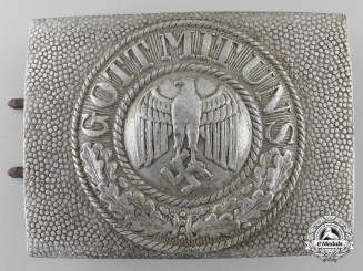 An Early 1936 Army (Heer) Enlisted Belt Buckle