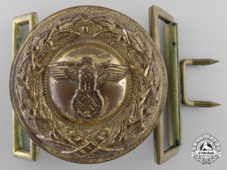 A German Justice Official Belt Buckle; Type II