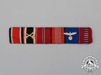 A Second War Olympic & Romanian Medal Ribbon Bar