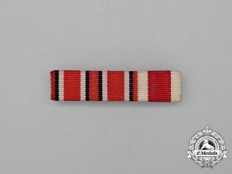 A Second War German Red Cross & Social Welfare Medal Ribbon Bar
