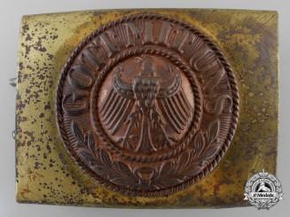 An Early Reichsmarine Belt Buckle 1929