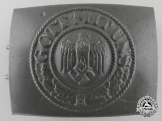 An Army Enlisted Belt Buckle by Friedrich C.Werthmann
