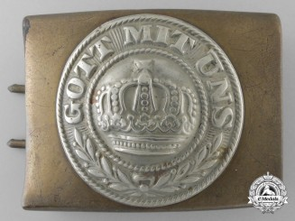 A Prussian WWI Army Belt Buckle