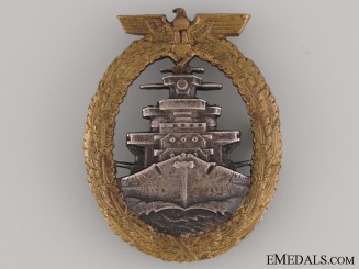 High Seas Fleet Badge by Ausf. Schwerin Berlin