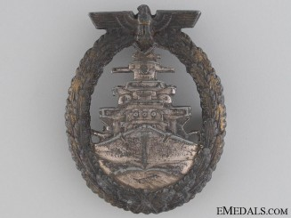High Seas Fleet Badge by Schwerin
