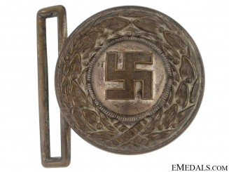 Hitler Youth Leader's Buckle