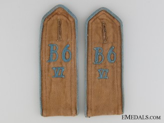 HJ Bavaria Shoulder Boards