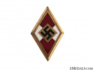HJ Golden Honor Badge