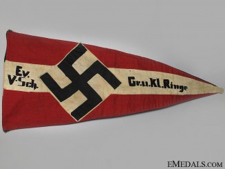 An HJ Troop Pennant