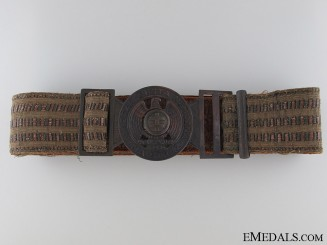 Slovakia. Hlinka Guard Leader's Belt Buckle