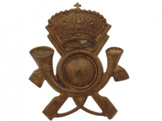 WWII Infantry Cap Badge
