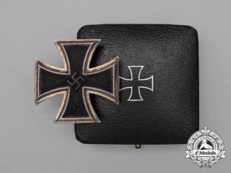 A Iron Cross 1939 First Class by Fritz Zimmermann, Pforzheim
