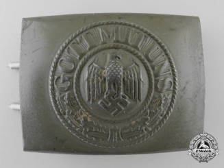 A 1940 Army EM/NCO's Belt Buckle by Dr. F. & Co