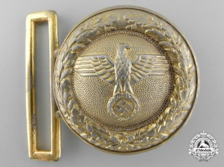 A Hessen and Baden State Forestry Service Officer's Belt Buckle