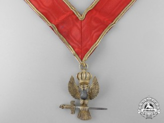 A 1901 Scottish Rite 33rd Degree Award of the Chapter of Rose Croix