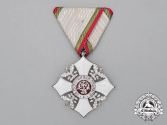 A Bulgarian Order of Civil Merit; 5th Class Knight's Badge