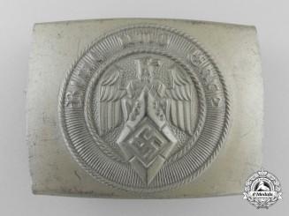 An HJ Belt Buckle by Christian Theodor Dicke