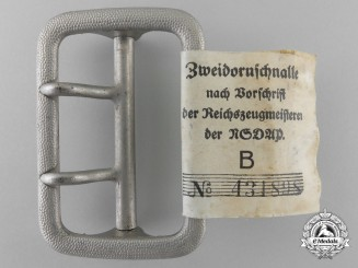 An SA Open Claw Belt Buckle by Heinr. Ulbricht's Witwe., Wien