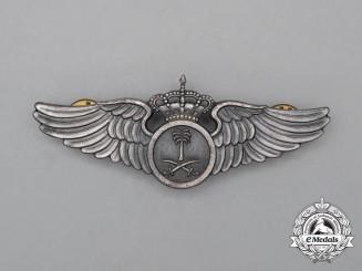 A Saudi Arabian Pilot's Wing
