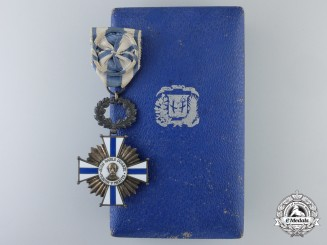 A Dominican Republic Order of Merit of Juan Pablo Duarte by Godet, Berlin