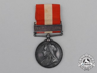 A Canada General Service Medal 1866-1870 to the 1st Chatham Infantry Company