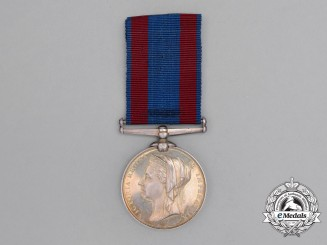 A North West Canada Medal 1885 to the Montreal Garrison Artillery