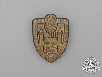 A 1936 NSKOV Northeim Front Soldiers and War Casualties Remembrance Day Badge