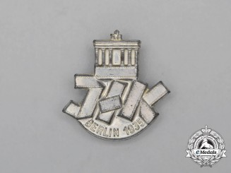 A 1935 Berlin International Film Exhibition Badge